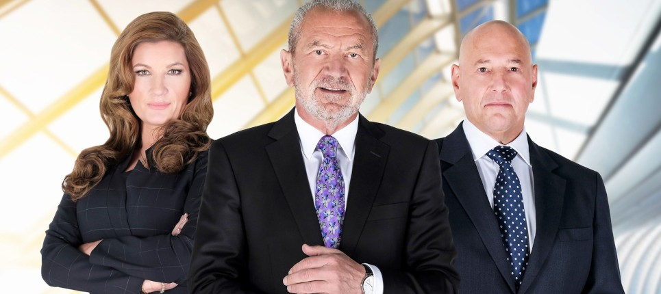 anyjunk on BBC the apprentice