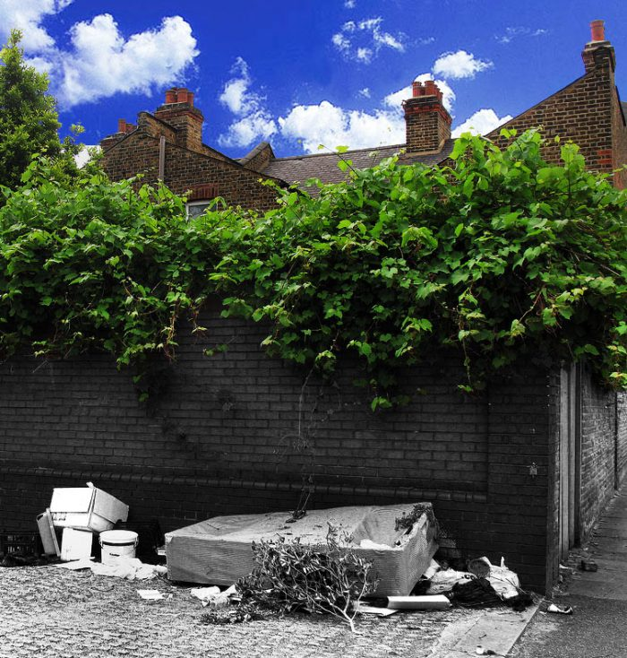 fly tipping london