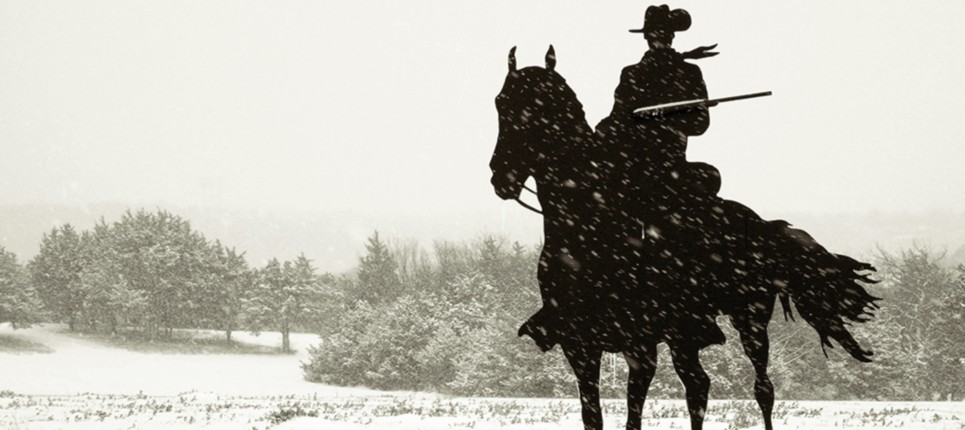 snow cowboy
