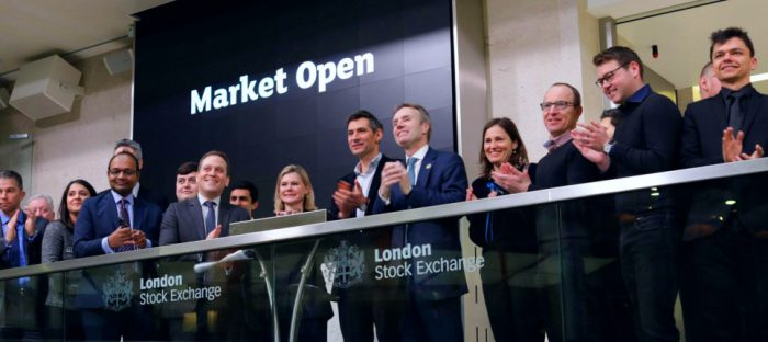 anyjunk opens london stock exchange