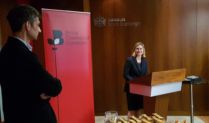justine greening with jason mohr anyjunk london stock exchange