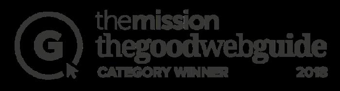 goodwebguide most useful website 2018 award