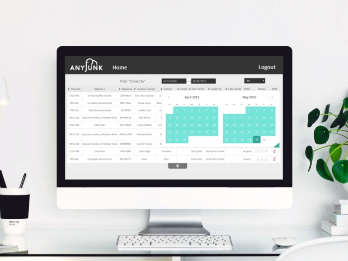 anyjunk portal with date