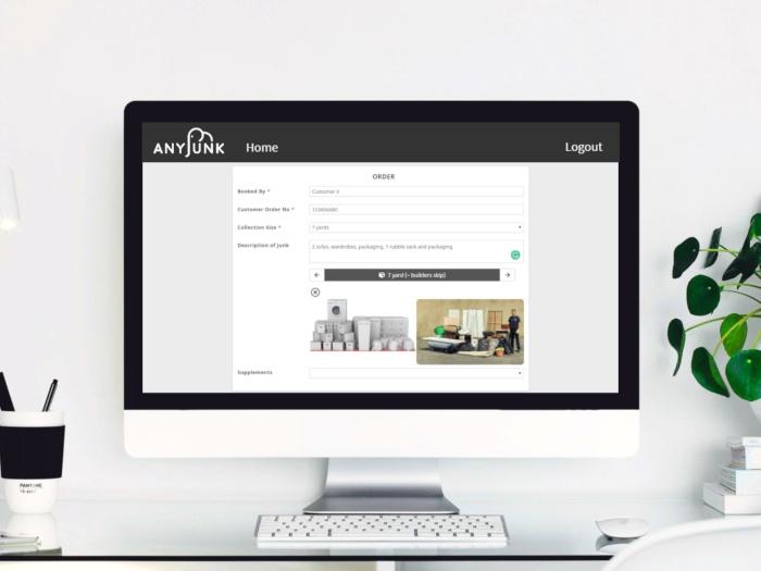 anyjunk portal booking