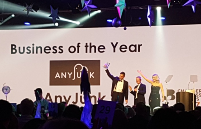 anyjunk business of the year award