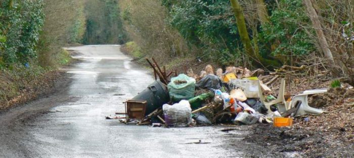 anyjunk fly tipping report 2012