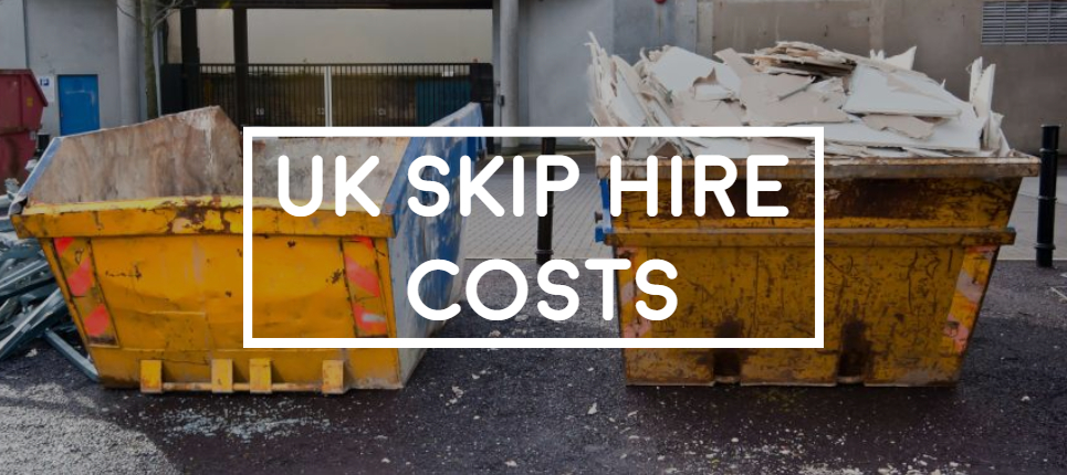 how much do skips costs in the uk breakdown picture of yellow unbranded skip