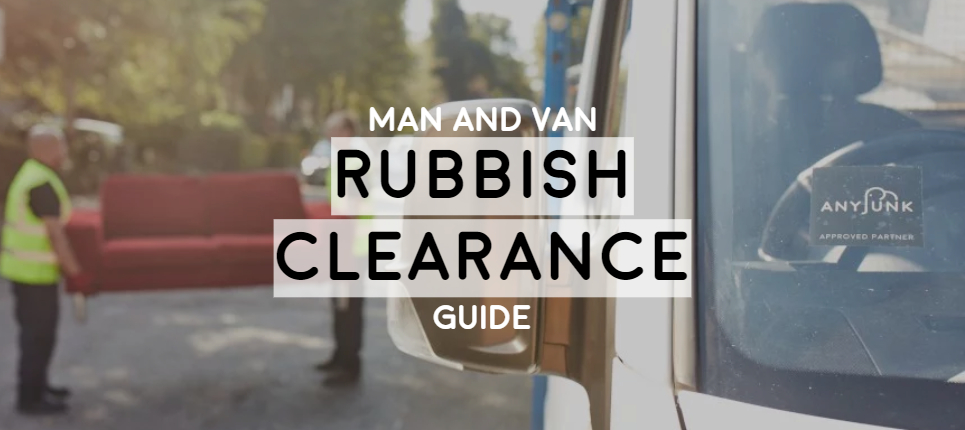 image of man and van removing a sofa ultimate guide to rubbish clearance