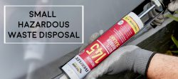 small hazardous waste sealant how to safely dispose and regulations anyjunk guide