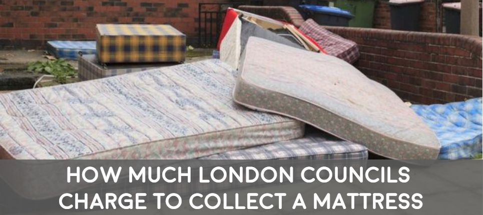 bulky waste mattress collection by london boroughs and how much they cost