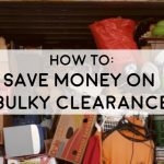 picture of garage full oh household junk how to cut the cost of bulky rubbish clearance household items how to save money when disposing of bulky waste