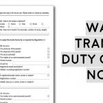 example blank waste transfer duty of care note includes description of waste, how the waste is contained, quantity, waste carriers license number, how to comply to rules governing waste disposal